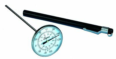 "Supco ST08 Stainless Steel Pocket Dial Thermometer, 5"" Stem, 1-3/4"" to"