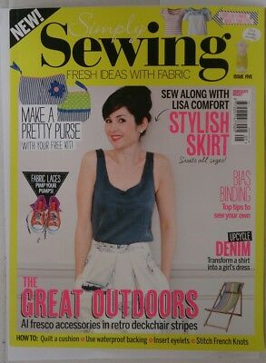 Simply Sewing issue 5 sewing and craft magazine