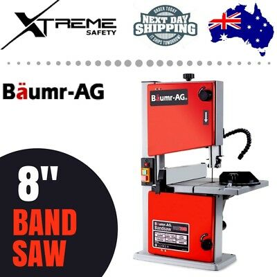 "BAUMR-AG BS30 250W 8"" Bandsaw - Wood Timber Cutting Table Drill Press Band Saw"