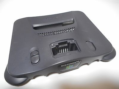 Original Nintendo 64 Console Top Case / Shell Only Replacement Charcoal Grey