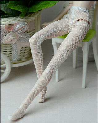 Fashion Doll Clothes Handmade Mesh Stocking Lace Bottoms Trousers Pant OJ