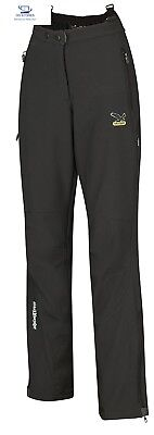 SALEWA - Pantaloni da donna W PNT, Nero (nero), EU 42 / IT 48