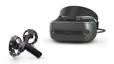 Lenovo Explorer Windows Mixed Reality Headset w/ Motion Controllers, Global Ship