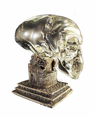 Indiana Jones Kingdom of the Crystal Skull Sideshow Replica Skull with Stand