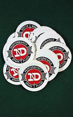 50 - ND - Nippondenso Spark Plugs - Stickers - Motorcycles - Original  Excellent