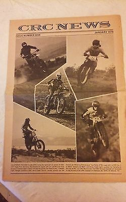 Jan. 1978 - CRC News Motocross - Motorcycles - Vol. 1 # 1 - Southern California