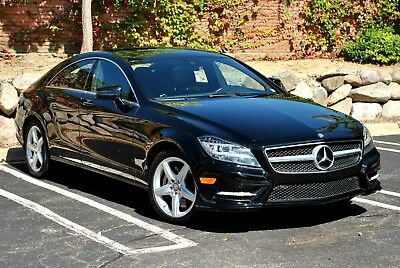 2014 MERCEDES-BENZ CLS-CLASS CLS 550 Twin Turbo V8 with 4MATIC AWD