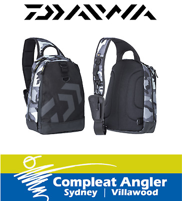 Daiwa One Shoulder Bag Camo BRAND NEW At Compleat Angler