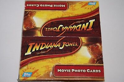 Indiana Jones Movie Photo Collector Cards Topps 2008 Hobby Edition