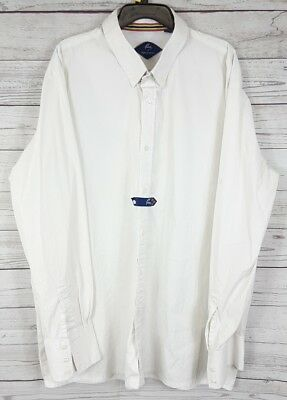 Pessoa English Saddle Horse White Long Sleeve Mens Horse Show Shirt Xxl 2Xl