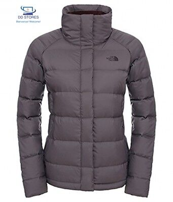 North Face W Kings Canyon Giacca Corta, Grigio/Rabbit Grey, M