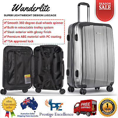 "28"" Inch Luggage Suitcase Trolley TSA Travel Carry on Bag Hard Case Lightweight"