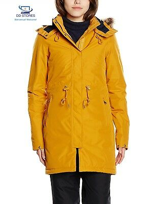 North Face W Zaneck Parka, Giallo/Citrine Yellow, S