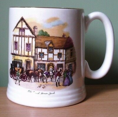 Lord Nelson Pottery Tankard Ivoryware - Old Coach House York