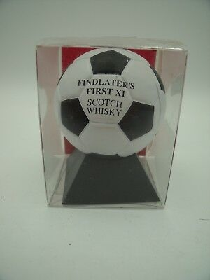 Rare Flasque à Whisky FINDLATER'S Football / Flask ITALIE 90 WORLD CUP TOP!