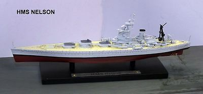 1:1250 ATLAS EDITIONS BATTLESHIP MODEL OF  GM131 HMS Nelson  NIB