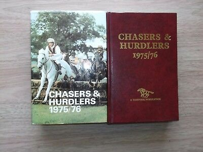"Timeform ""chasers & Hurdlers 1975/76"" Fine In A Fine Protected Dust Jacket"