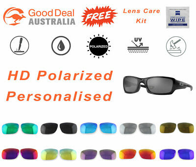 Polarized Replacement Lenses For-Oakley Fives Squared 9238 Sunglasses AU Stock