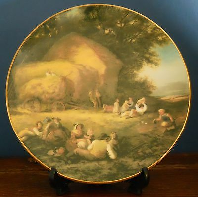 A Royal Grafton Collectors Plate – Harvestime by William Shayer