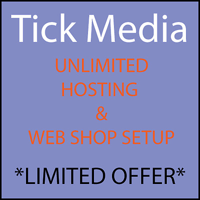 Ecommerce Website Shop with Premium Hosting for 4 Year