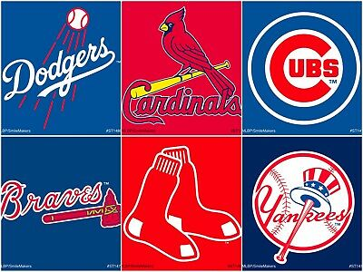 Major League Baseball Stickers - Baseball Party - MLB Stickers - MLB Party