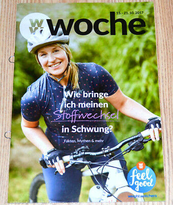 Weight Watchers Feel Good Woche 15.10-21.10 SmartPoints 2017 Wochenbroschüre NEU