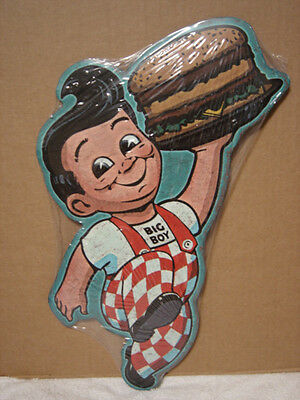 Big Boy.......metal Embossed Vintage Look Sign...snack Shop, Theater.