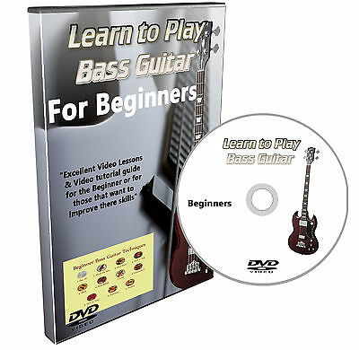 Learn how to play Bass Guitar DVD Course Lessons for beginners