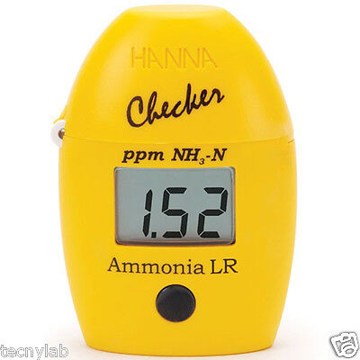 Medidor de Amoníaco / Colorímetro digital Hanna Checker Rango Bajo (HI 700)