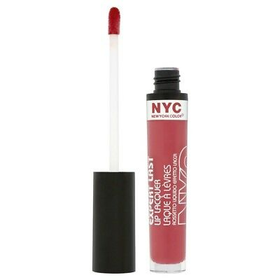 NYC Expert Last Lip Lacquer 400 Big City Berry 3.7ml New