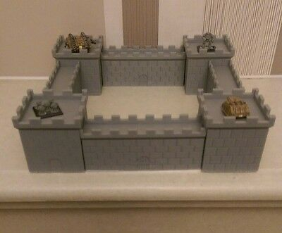 *SCENERY* 8 6mm castle sections. Ideal for Epic, Dystopian Wars + any 6mm game
