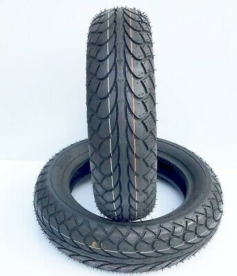 100/80-10 White Wall Tyre MC22 Motorcycle/Scooter Tubeless Tyre /EACH