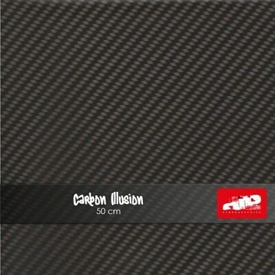 Carbon Illusion 50cm Hydrographics Film FOLDED Carbon Hydro Dipping