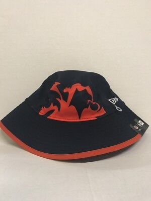 NFL SEATTLE SEAHAWKS Men s Navy New Era Fearless Fan Bucket Hat ... 013100237eaf