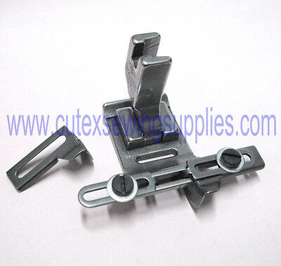 Adjustable Cloth Tape Guide Presser Foot For ZigZag Industrial Sewing Machines