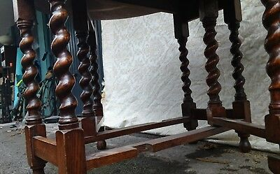 **LAST CHANCE TO BUY** Vintage Antique Wooden Drop Leaf Dining Or Kitchen Table