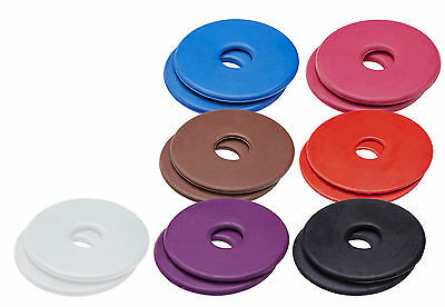 Cottage Craft RUBBER BIT GUARDS/RINGS pair - SMALL AVAILABLE in ALL COLOURS