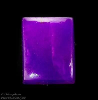 Sugilite Gel Cabochon Untreated Natural Gemstone AAA Top Quality 3.30 ct 9.8 mm