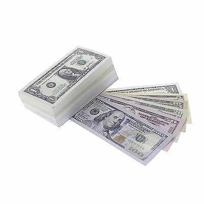 Fake Money $9300 in Pretend Paper Play Money Small Dollar Bills 300 Counts