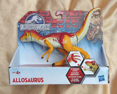 Jurassic World Bashers and Biters Allosaurus Action Figure
