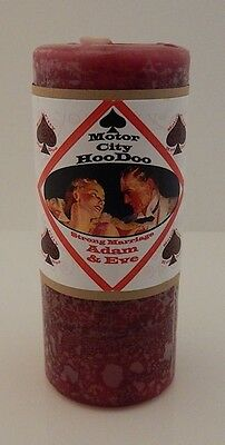 4 Pack Adam & Eve CANDLE Magick COVENTRY Creations Hoo Doo Deepen Commitment