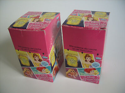 Topps Disney Princess Trading Cards, 2x Display = 48 Booster, SCHNÄPPCHEN