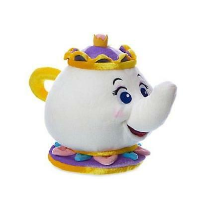 New Official Disney Beauty & The Beast 25cm Mrs Potts Soft Plush Toy