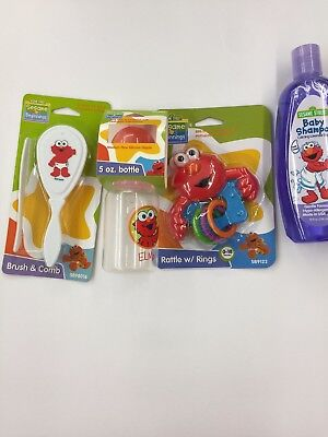 NEW Sesame Street Elmo Baby Bundle
