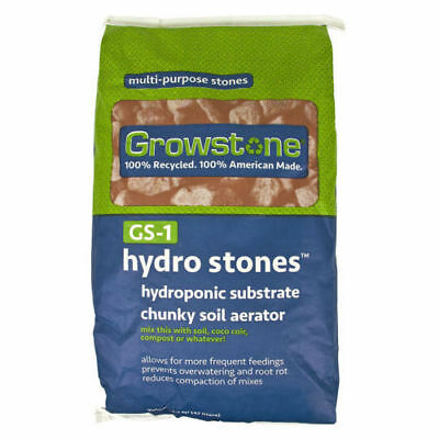 Growstone GS-1 Hydro Stones, 1.5 cu ft - Hydroponic Grow Media - Reusable