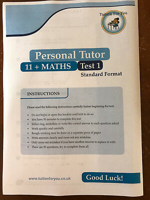 1x MATHS 11+ ELEVEN PLUS TEST/EXAM PAPERS (NFER/BOND)  IDEAL FOR CEM  AND SATS