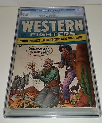 Western Fighters #2 1948 Cgc 9.6 Wow White Pages Deal Wow Deal!