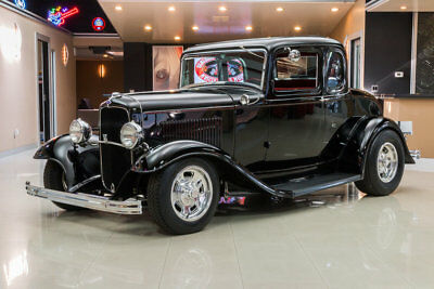1932 Ford 5-Window Coupe Street Rod Custom 5-Window Coupe! Ford 289ci V8 Engine, C4 Auto, Henry Ford Steel Body!