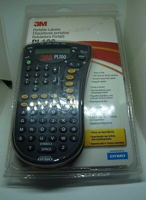 Dymo 3M PL100 Portable Labeler  New