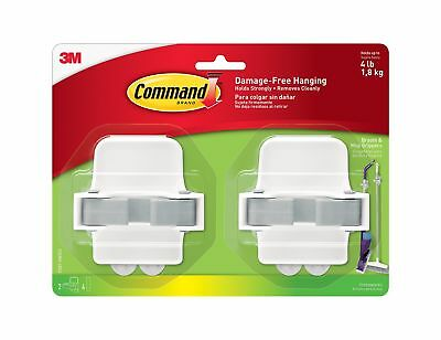 Command 17007-HW2EF Broom Gripper 2 pack 2 Grippers New